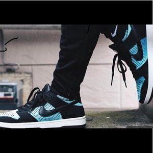 463ffb12ab291 Nike Shoes - Nike Dunk Low Flyknit  Chlorine Blue